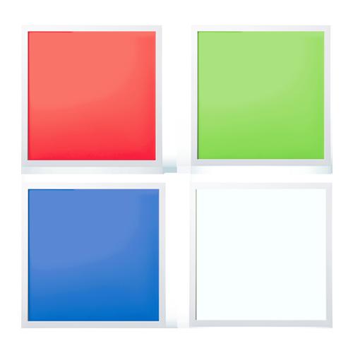 RGB 600x600 panel light