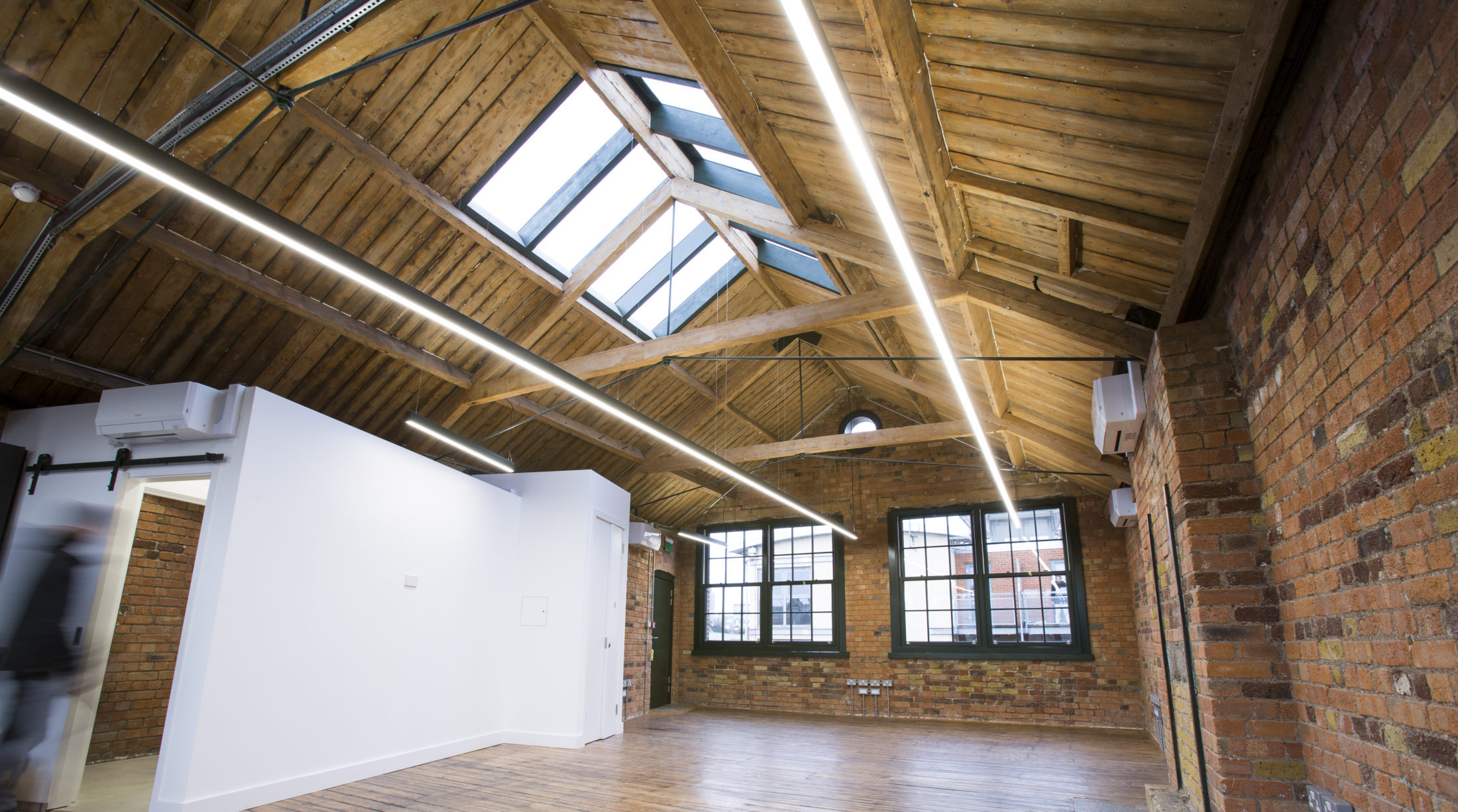 Linear Office Lighting - Bethnal Green