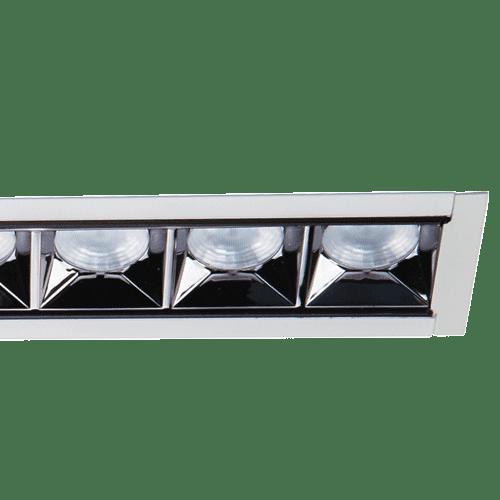 Recessed Glare Control Linear Lighting - Estrella Pro Round Aperture Recessed