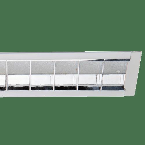 CAT2 Recessed Linear Light - Estrella Pro Chrome Louvre