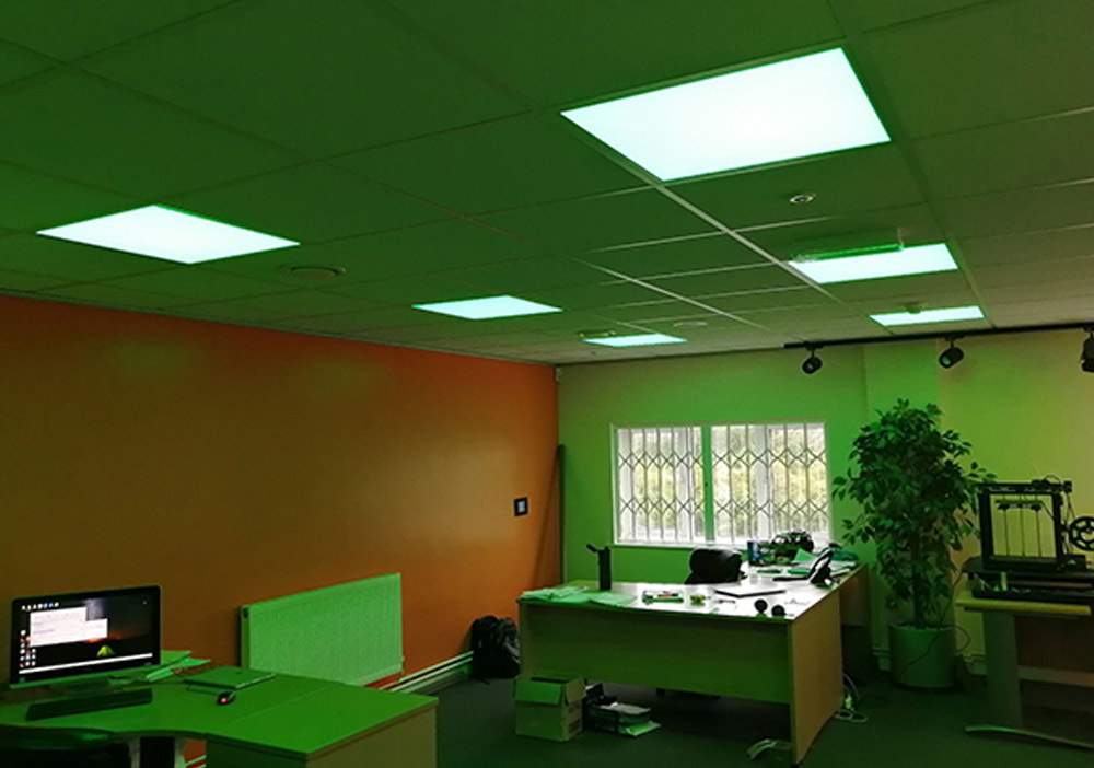 RGBW Office Lighting Project