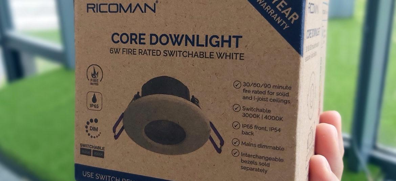 Ricoman Core Downlight Eco Friendly Packaging