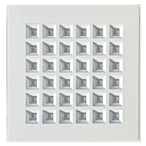 Architectural Grid Ceiling Luminaire